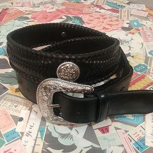 Leather Western size 34 belt